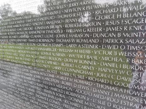 Vietnam Veterans Wall