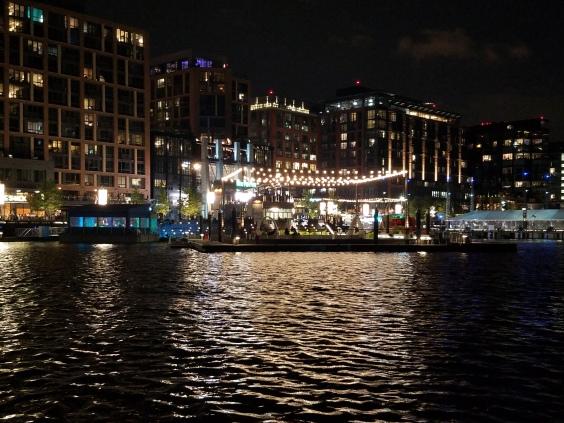 wharf night