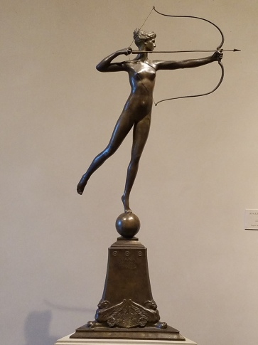 Scott's favorite small sculpture: Diana of the Tower