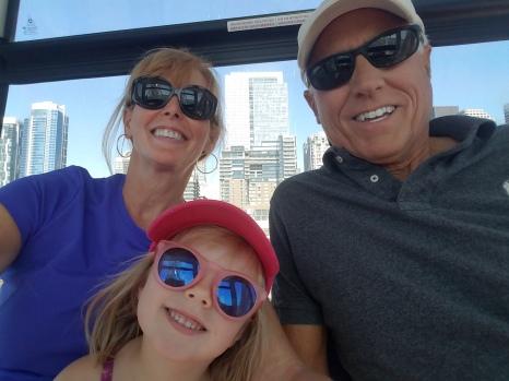 Fun on the ferris wheel.