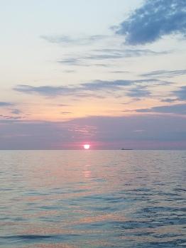 Sunrise in the Atlantic