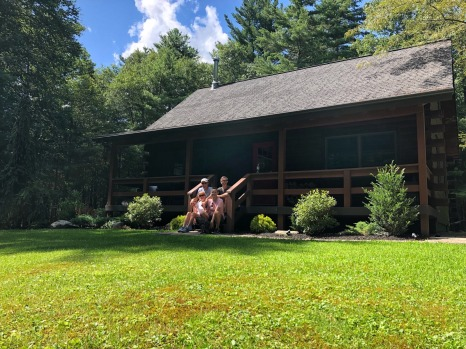 We love the cabin!