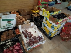 The fresh produce department.