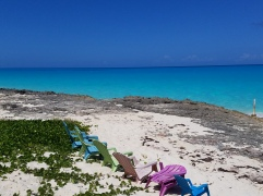 The beach at Santanna's