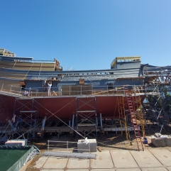 The restoration of the Mayflower II