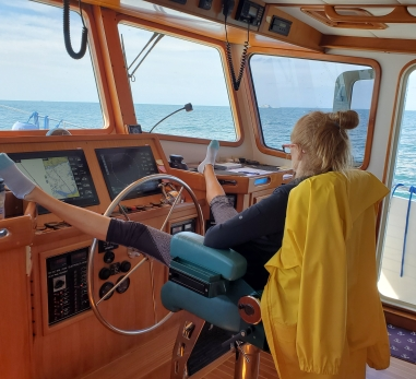 On whale watch patrol