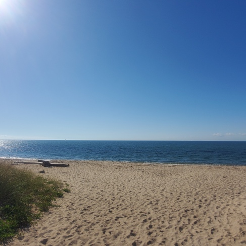Beach on Block Island.