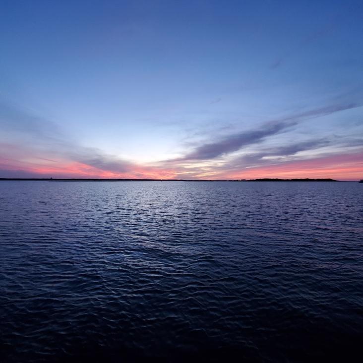 Sunset at Cumberland Island.