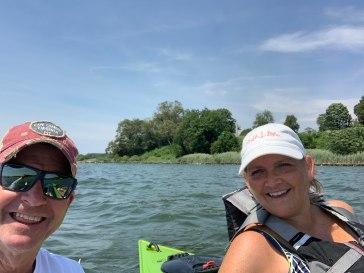 Teri and Scott, our kayak mentors!